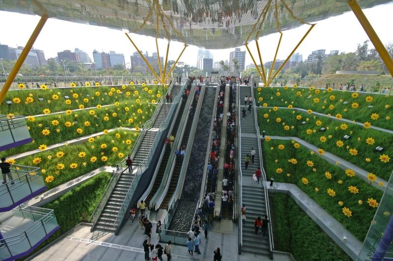 Central Park Station KMRT R9 Flughafen Taiwan International Airport