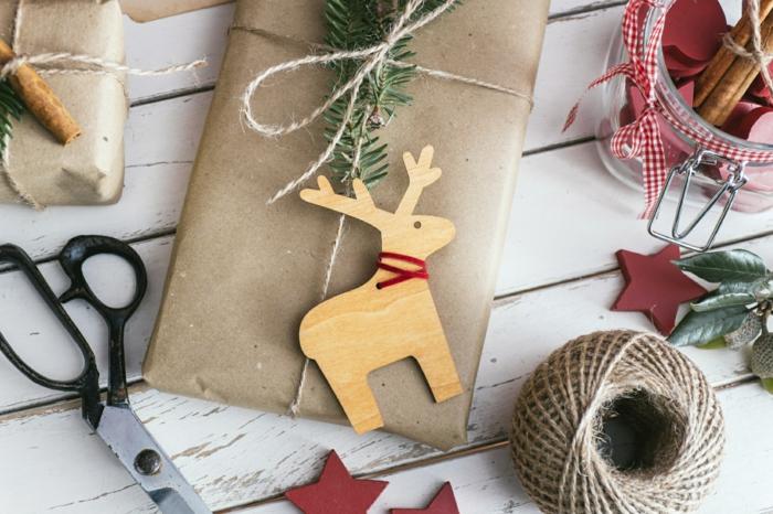DIY Geschenke Weihnachten Geschenkverpackungen basteln