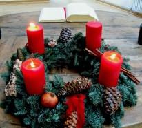 Der Adventskranz: das Symbol für eine märchenhafte Vorweihnachtszeit