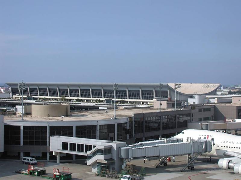 Flughafen Taiwan International Airport bevor Renovation