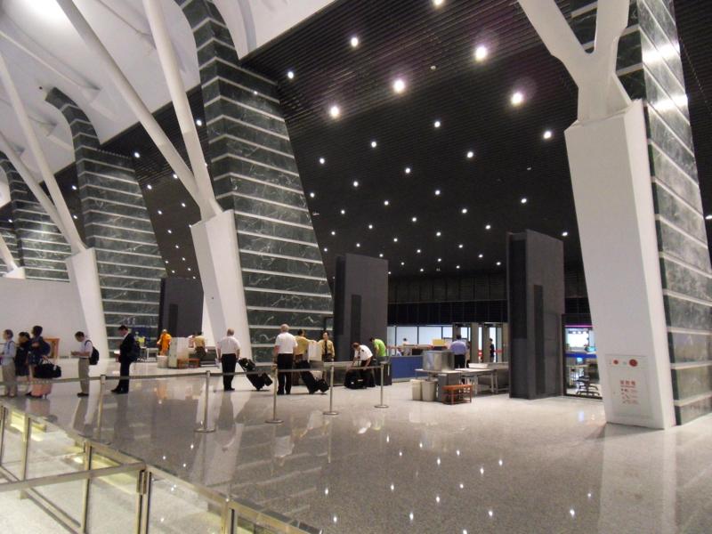 Flughafen Taiwan Renovierung Taoyuan International Airport Terminal1