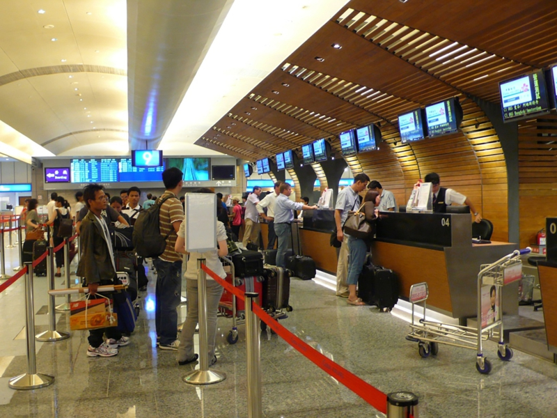 Flughafen Taiwan Taipeh Taoyuan International