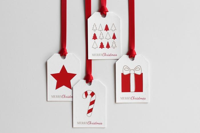 Geschenke selber machen Basteln für Weihnachten DIY Geschenke