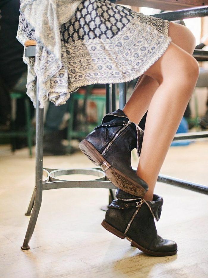 halbstiefel damen fashion mode braune schuhe  italienische schuhe braune schuhe fashion mode braune schuhe italienische schuhe elegant mit kleid