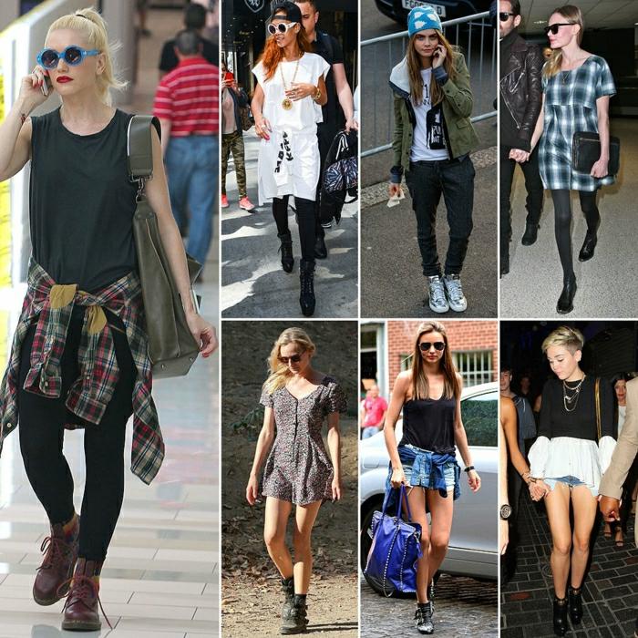 stiefeletten fashion mode braune schuhe italienische schuhe grunge fashion