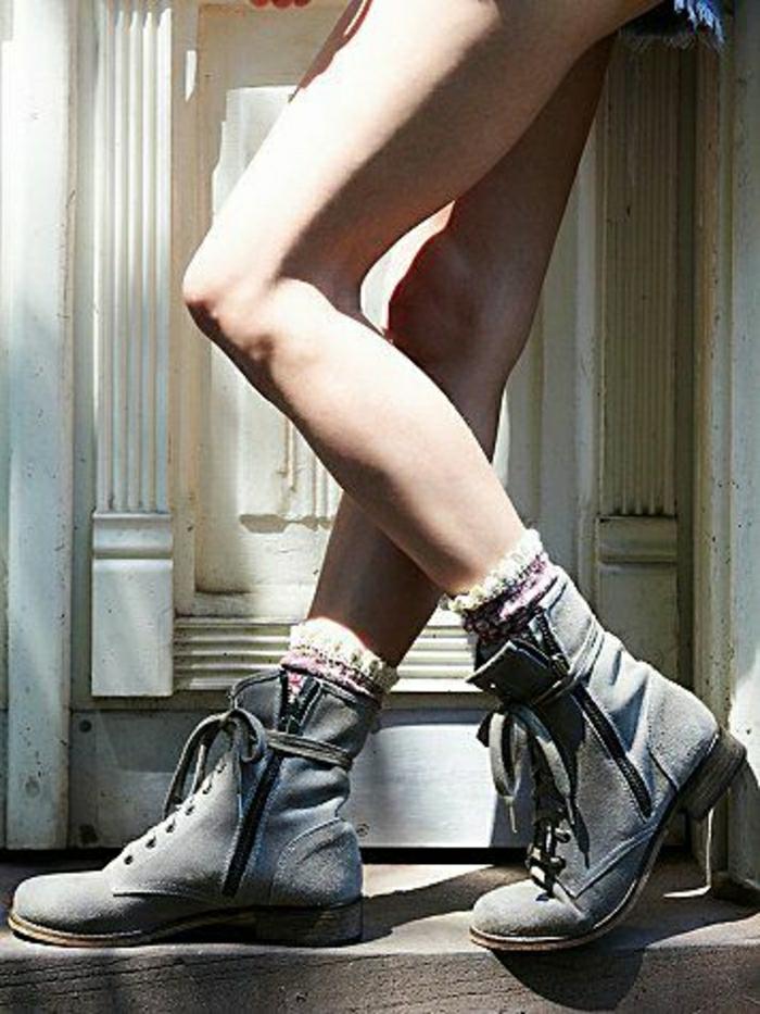 Halbstiefel stiefeletten fashion mode braune schuhe italienische schuhe petrol blau