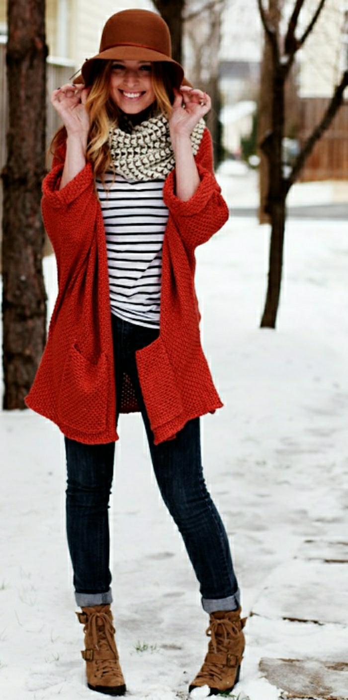 Stiefletten damen fashion mode italienische schuhe  braune gescnuert klett verschluss