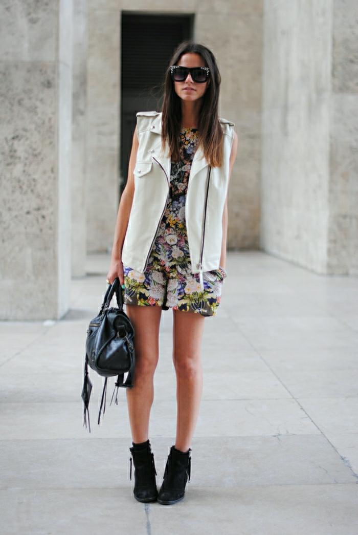 Halbstiefel stiefeletten fashion mode schwarze schuhe rockstar