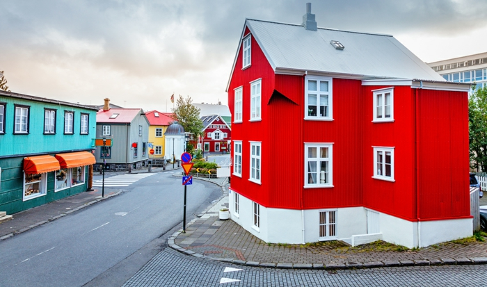 Hauptstadt Island Reykjavík sehenswürdigkeiten architektur