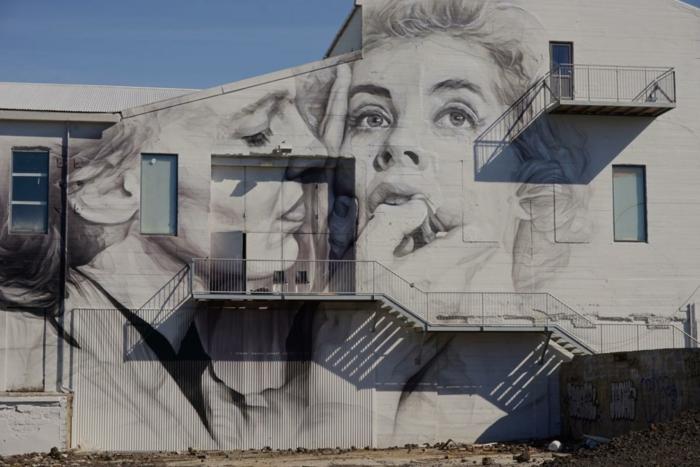 Hauptstadt Island Reykjavík sehenswürdigkeiten straßenkunst