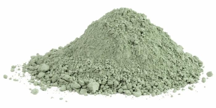 Heilerde pulver gruen