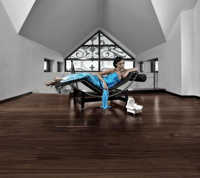 Holzfliesen holzpaneele holzverkleidung Holzfliesen fliesen holzoptik wohnideen corbusier auf holzboden