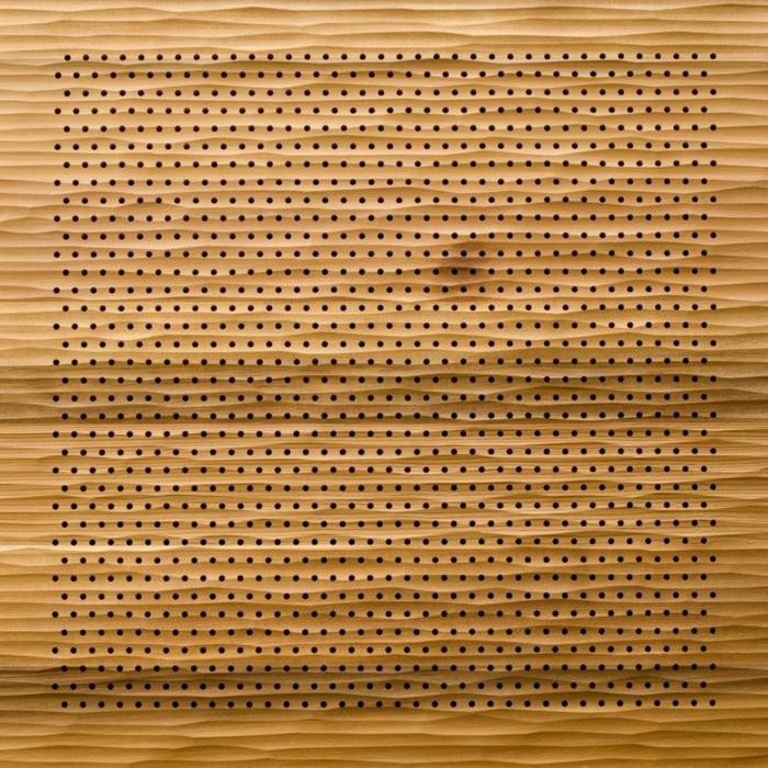 Holzfliesen fliesen holzoptik wohnideen wangestaltung holz verkleidung waende akustikplatten element
