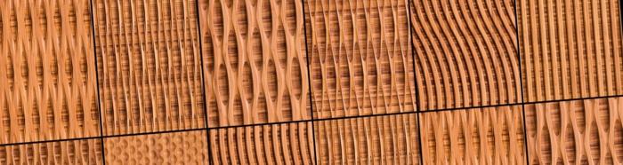 holzoptik wohnideen wangestaltung holz verkleidung waende akustikplatten wand bambus