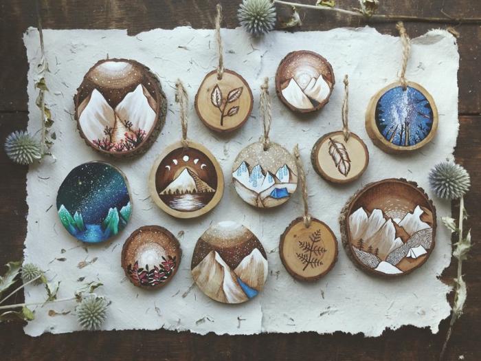 Holzkunst kunst aus holz künstler dekoration organische kunst anhaenger viele