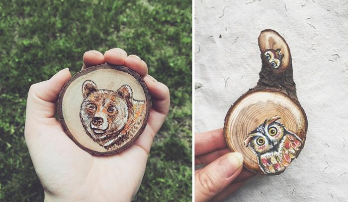 Holzkunst kunst aus holz künstler dekoration organische kunst baeren