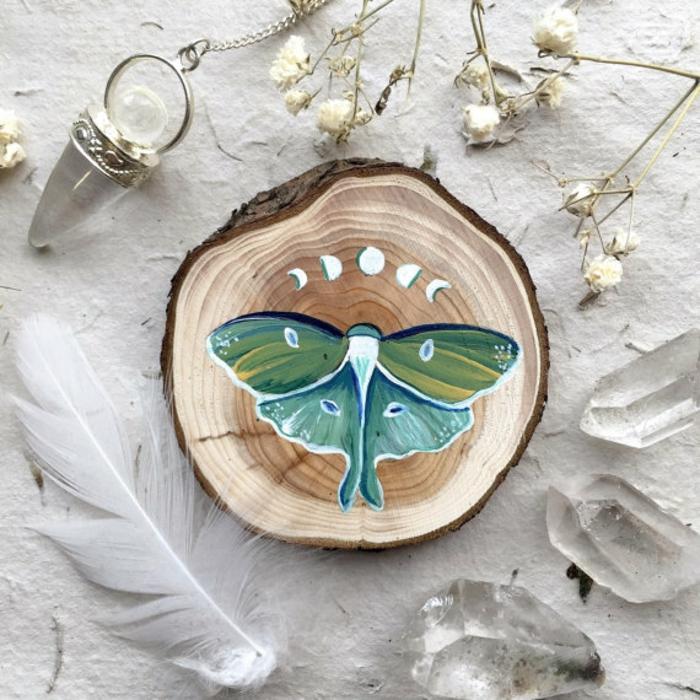 Holz kunst kunst aus holz künstler dekoration organische kunst tiere schmuck motte