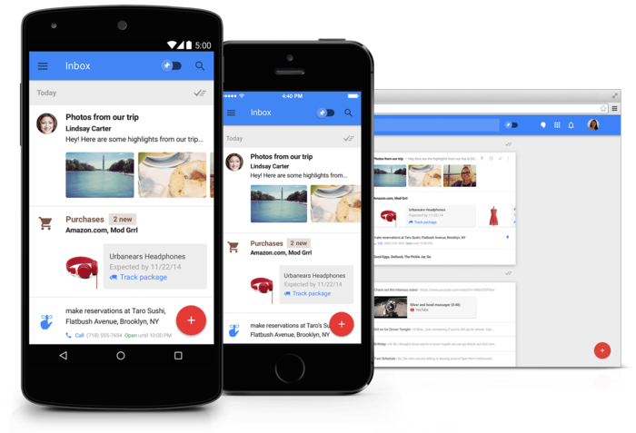 Inbox Gmail neue app smart reply gmail konto einrichten