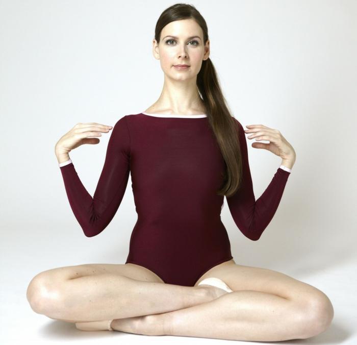 Körpersprache stlleung pose position ballet yoga