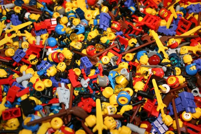 Lego Spiele müllhaufen
