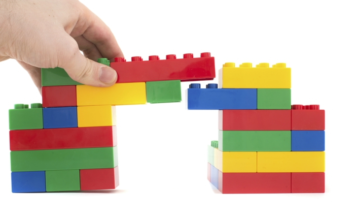 Lego Spiele verarbeitung bruecke