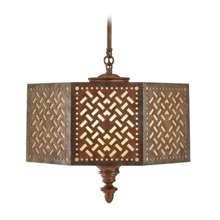 Orientalische Lampen eisen rustika