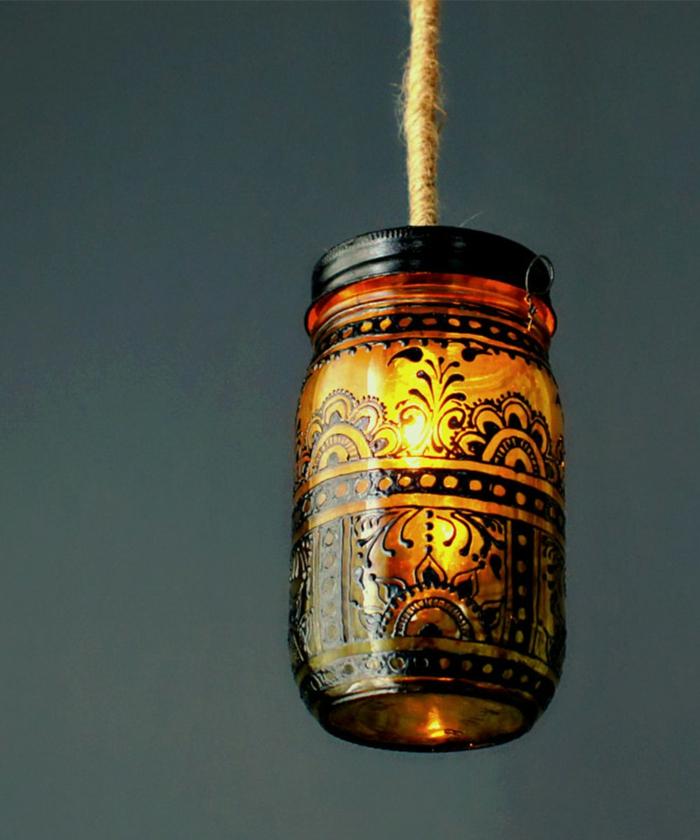 Orientalische Lampen henna ausmalung