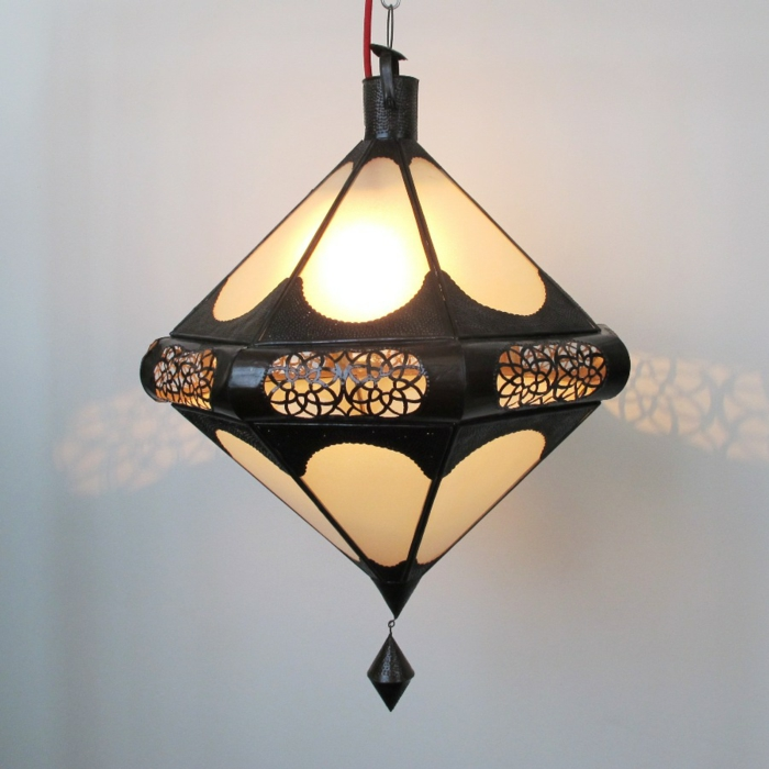 Orientalische Lampen lat eren metal