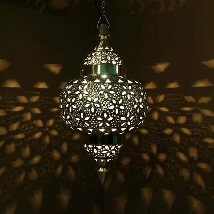 Orientalische Lampen marokko schwarz schrenschnit