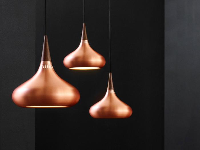 Orientalische Lampen pendel leuchte braun