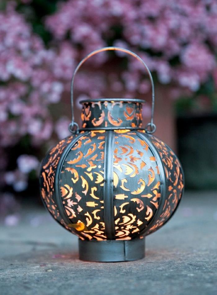 Orientalische Lampen runde laterne
