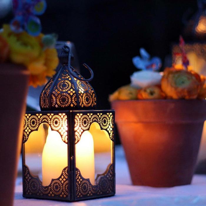 Orientalis che Lampen windlicht ornament