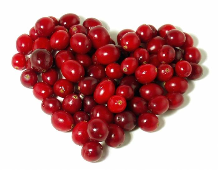 Tagesbedarf Zucker cranberries preiselbeeren