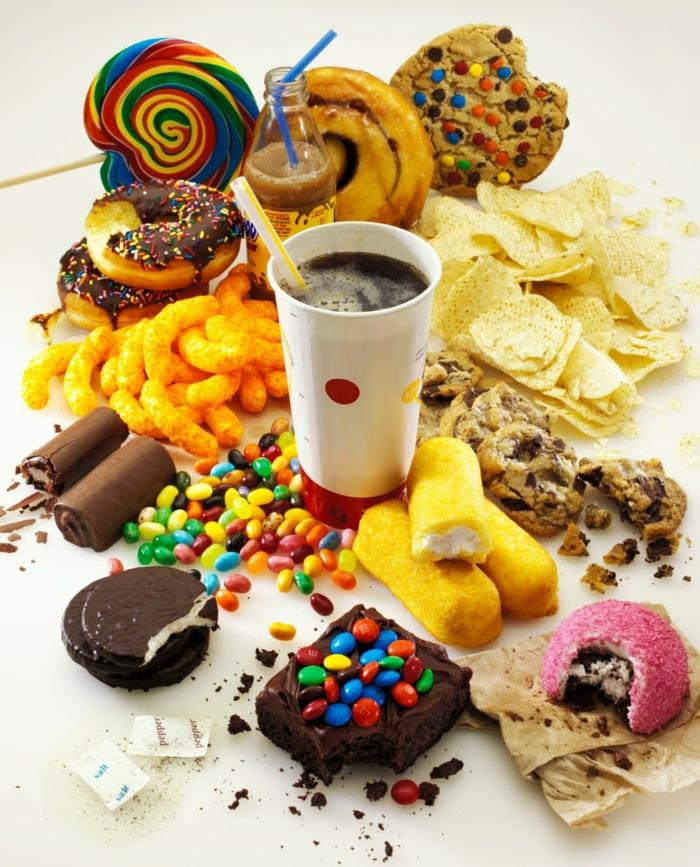 Tagesbedarf Zucker hochen gehalt
