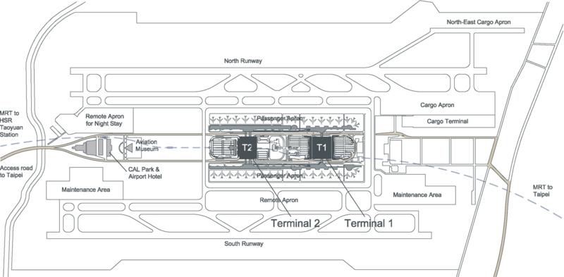 Taiwan Flughafen Taiwan renovierung Taoyuan International Airport Taipeh Plan
