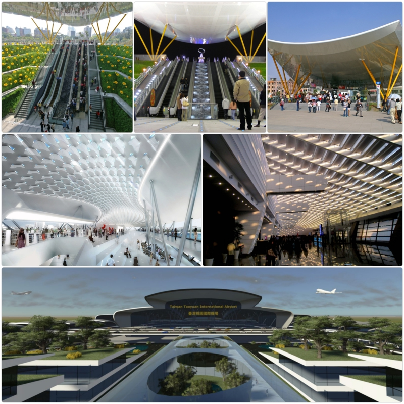 Taiwan Flughafen Taiwan renovierung Taoyuan International Airport Taipeh