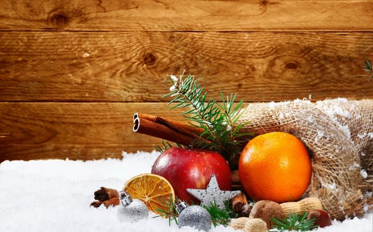 Weihnachtliche Gewürze Nelken Gewürz Zimt Wirkung Orange