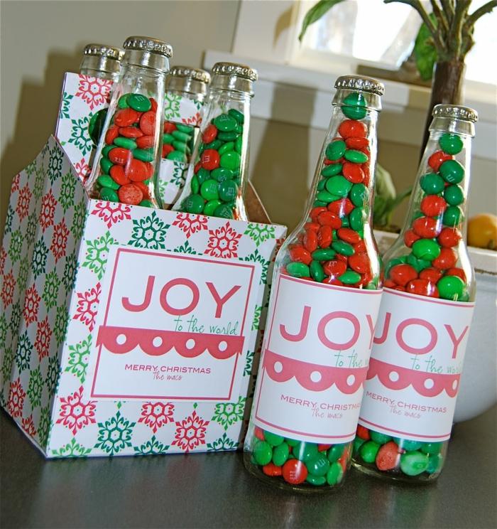 Weihnachtsgeschenke basteln DIY Projekte Weihnachten