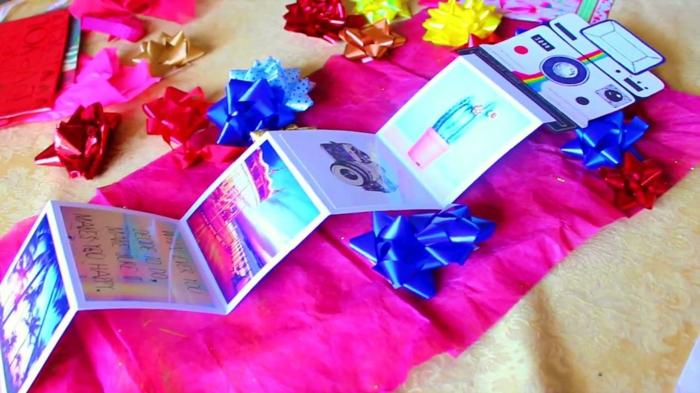 Weihnachtsgeschenke selber basteln DIY Ideen persönliche Geschenke