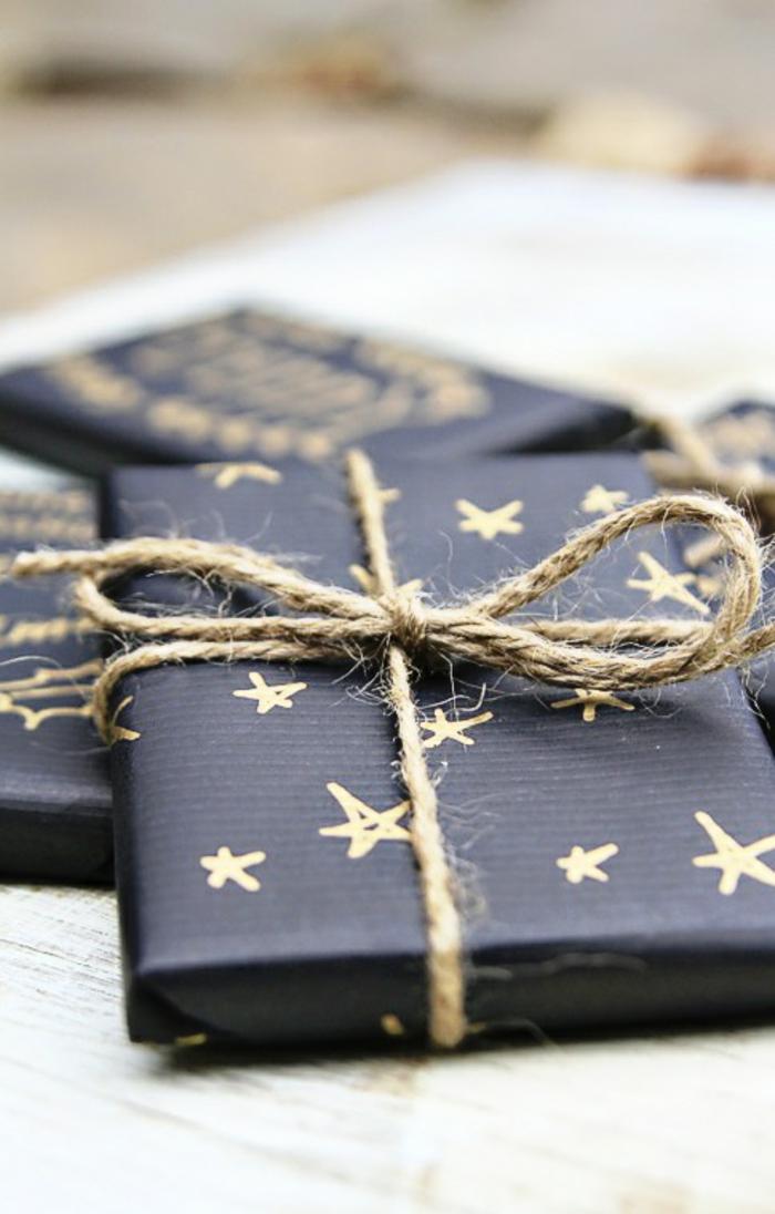 Weihnachtsgeschenke verpacken geschenk verpacken geschenke schön verpacken bindefaden