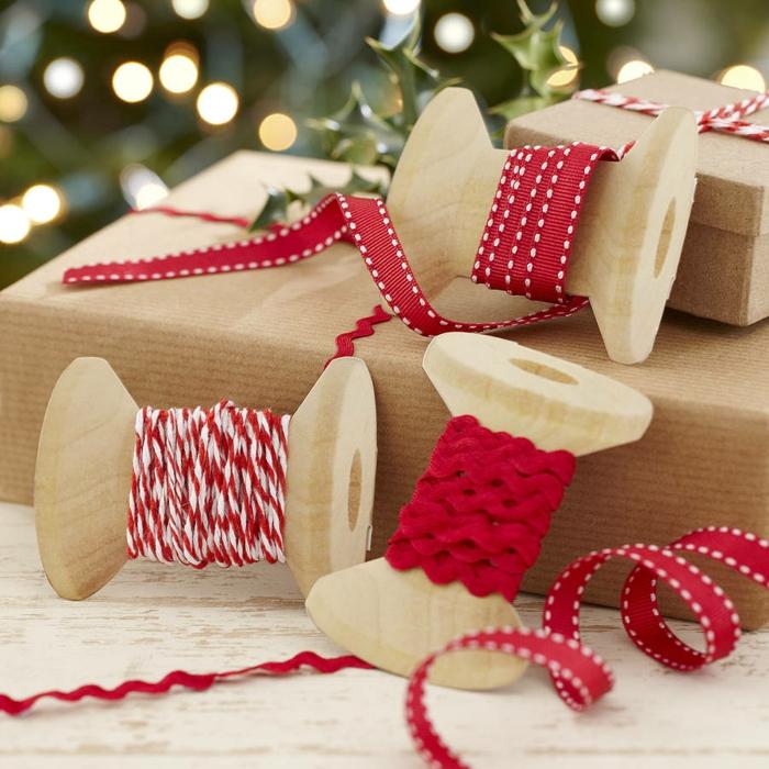Weihnachtsgeschenke verpacken geschenk verpacken geschenke schön verpacken kurzware