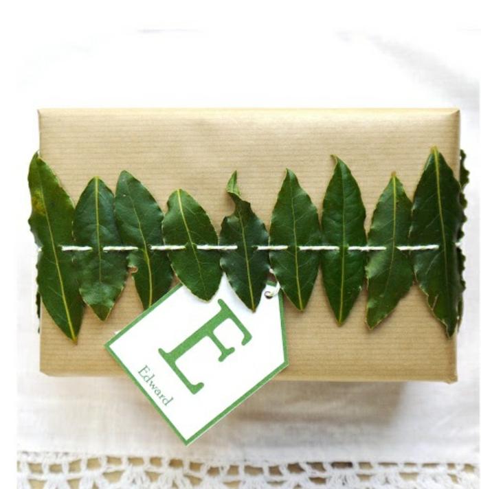 Weihnachtsgeschenke verpacken geschenk verpacken geschenke schön verpacken natur materialien