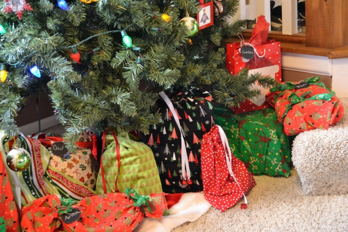 Weihnachtsgeschenke verpacken geschenk verpacken geschenke verpacken säcke