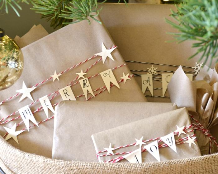 Weihnachtsgeschenke verpacken geschenk verpacken geschenke schön verpacken zum selbst gestalten überschrift