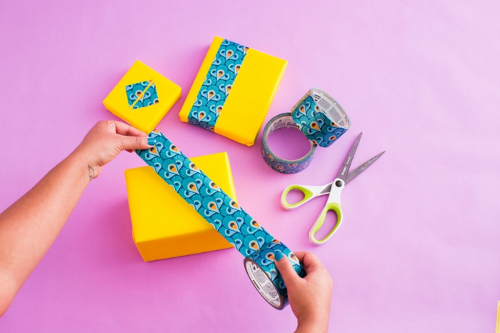 Weihnachtsgeschenke verpacken geschenk verpacken geschenke schön verpacken selbst gestalten kontraste