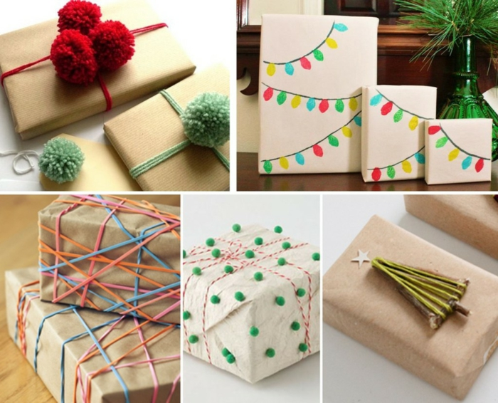 Weihnachtsgeschenke verpacken geschenk verpacken geschenke schön verpacken zum selbst gestalten mix