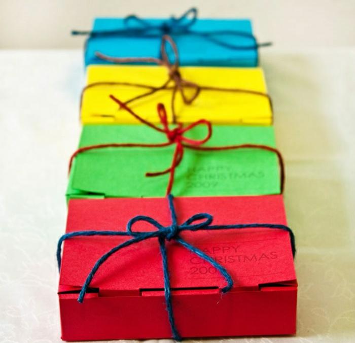 Weihnachtsgeschenke verpacken geschenk verpacken geschenke schön verpacken zum selbst gestalten schachtel
