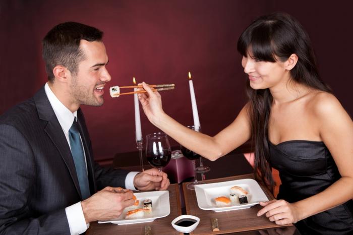 abnehmen ohne hungern gericht liebespaar lifestyle