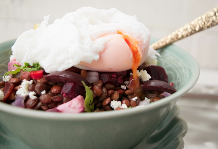abnehmen ohne hungern leckerer salat