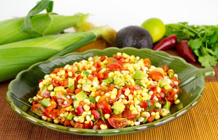 abnehmen ohne hungern mexikanischer Salat